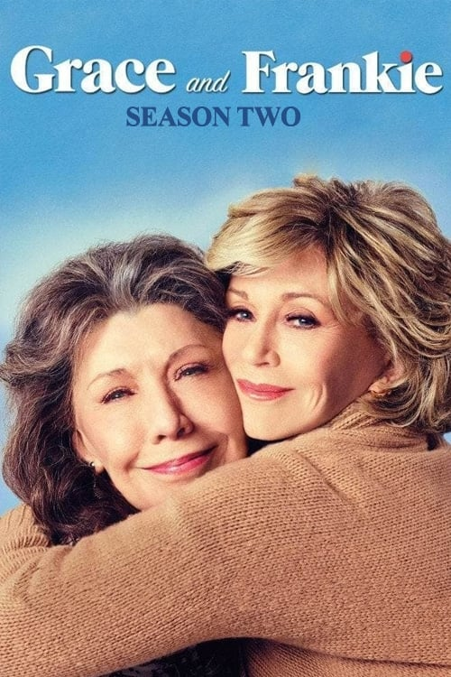 Cover of the Season 2 of Grace and Frankie