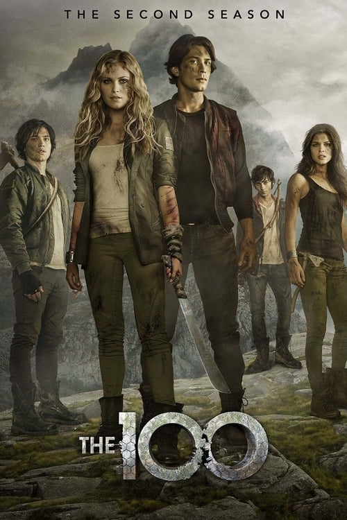 Cover of the Season 2 of The 100