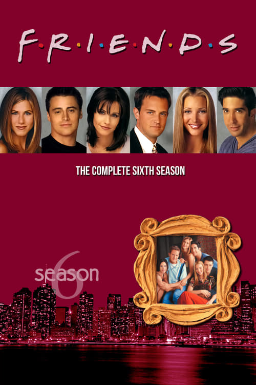 Cover of the Season 6 of Friends
