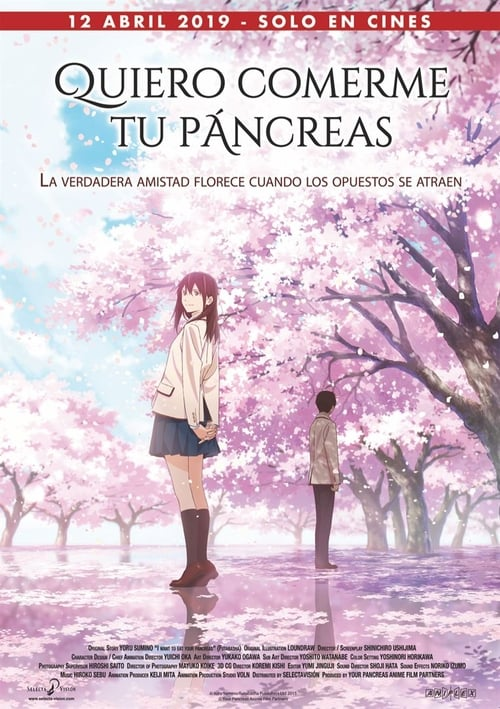 Quiero comerme tu páncreas (2018) Repelisplus Ver Ahora Películas Online Gratis Completas en Español y Latino HD