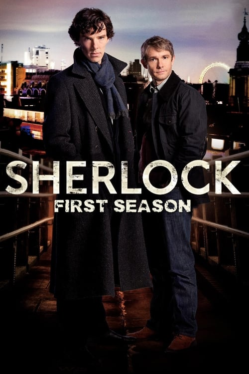 Cover of the Series 1 of Sherlock