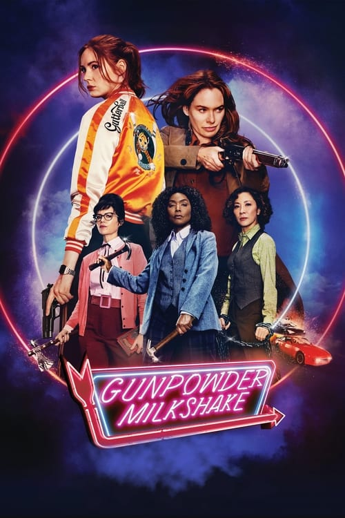Gunpowder Milkshake (2021) Poster