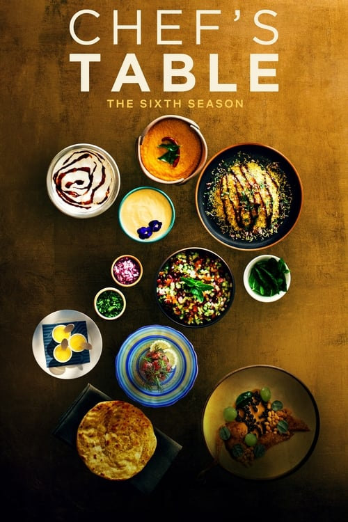 Cover of the Volume 6 of Chef's Table