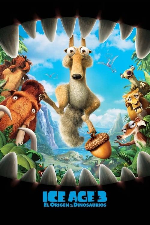 Ice Age 3: El origen de los dinosaurios (2009) Repelisplus Ver Ahora Películas Online Gratis Completas en Español y Latino HD