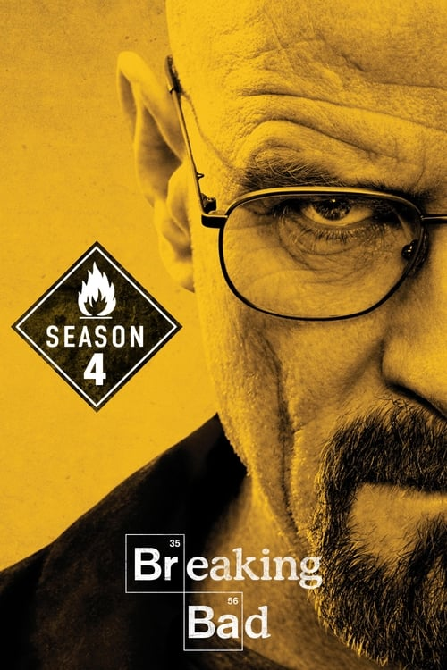 Cover of the Season 4 of Breaking Bad