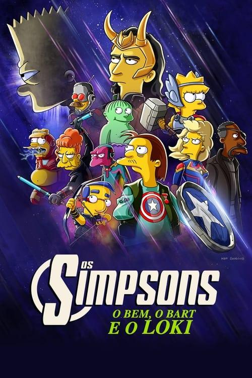 Especial Os Simpsons: O Bem, O Bart e O Loki Dual Áudio - FULL HD 1080p
