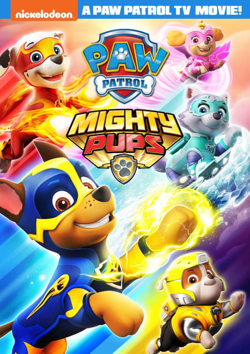 In this new short feature from the all-powerful Paw Patrol franchise, our search and rescue dogs are given super-powers after a mysterious meteor lands in Adventure Bay. movie poster
