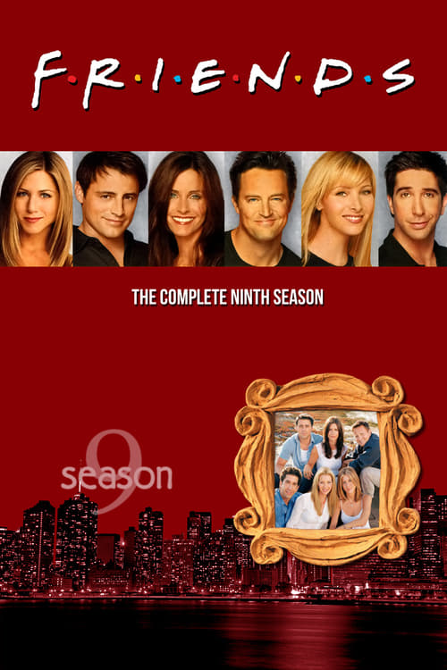 Cover of the Season 9 of Friends