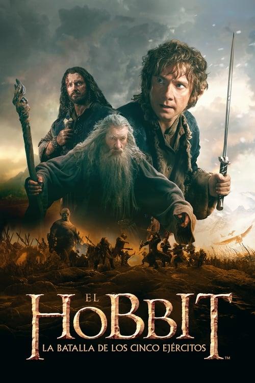 El Hobbit: La batalla de los cinco ejércitos (2014) Repelisplus Ver Ahora Películas Online Gratis Completas en Español y Latino HD