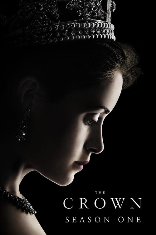Cover of the Season 1 of The Crown