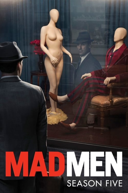 Cover of the Season 5 of Mad Men
