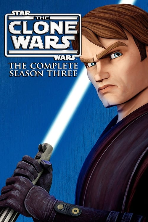 Cover of the Season 3 of Star Wars: The Clone Wars