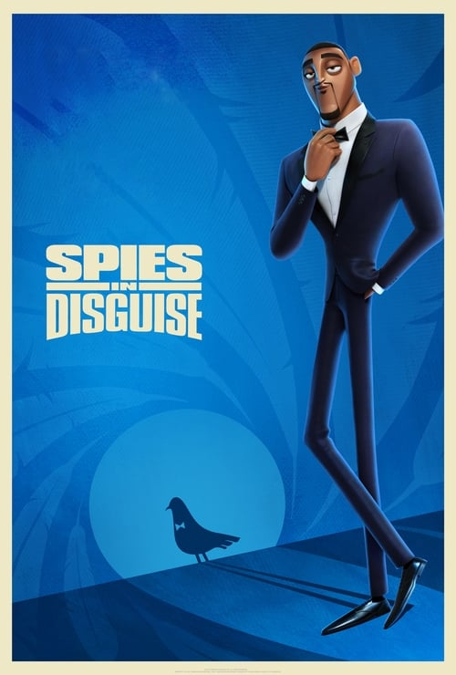 Poster för Spies in Disguise - Banner