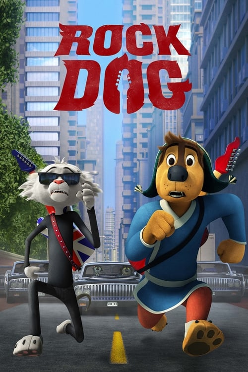 Rock Dog (2016) Watch Full Movie Streaming Online