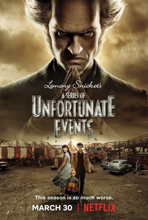 Cover of the Season 2 of A Series of Unfortunate Events