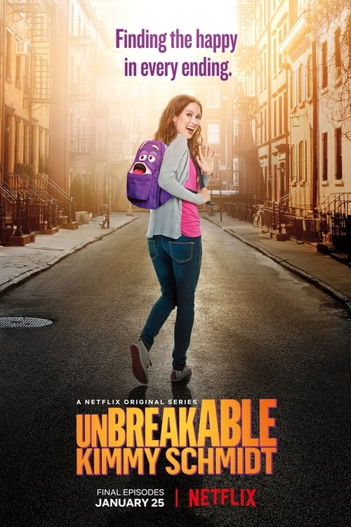 Cover of the Season 4 of Unbreakable Kimmy Schmidt