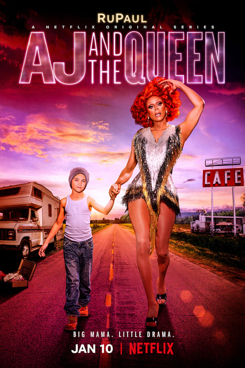 Cover of the Season 1 of AJ and the Queen