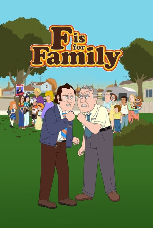 Cover of the Season 4 of F is for Family