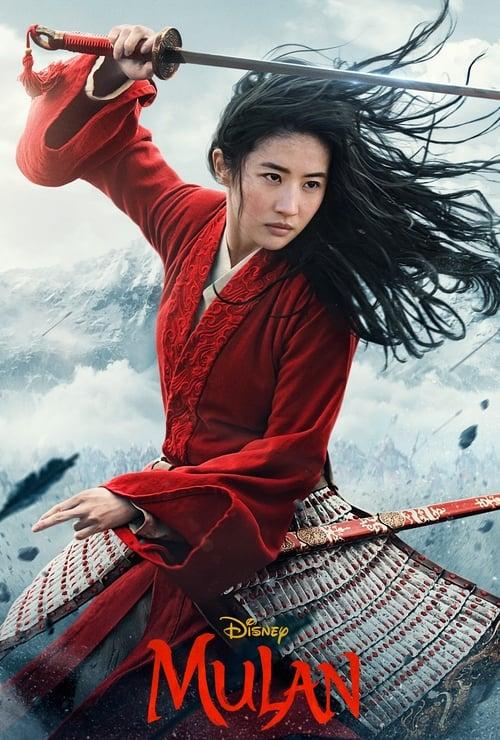 Poster för Mulan - Banner