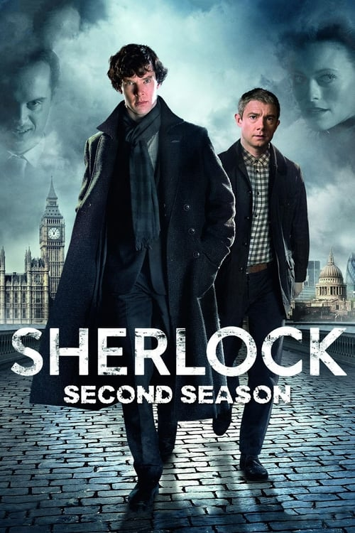 Cover of the Series 2 of Sherlock