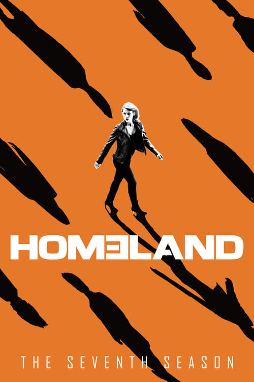 Cover of the Season 7 of Homeland