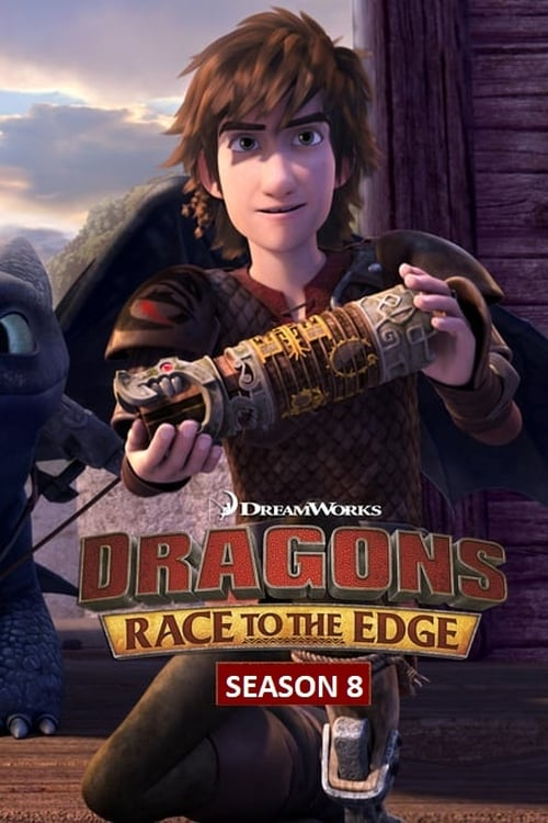 Cover of the Race to the Edge Pt. 6 of DreamWorks Dragons