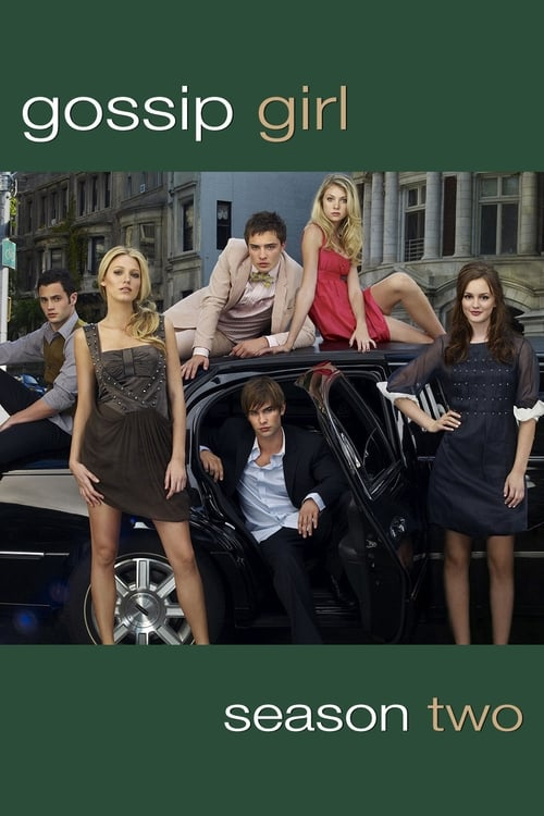 Cover of the Season 2 of Gossip Girl