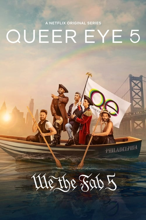 Cover of the Season 5 of Queer Eye