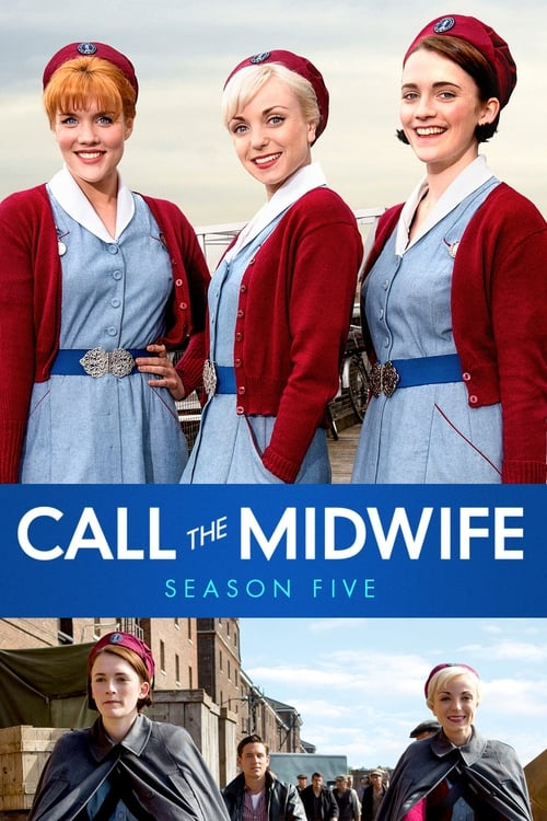Cover of the Series 5 of Call the Midwife