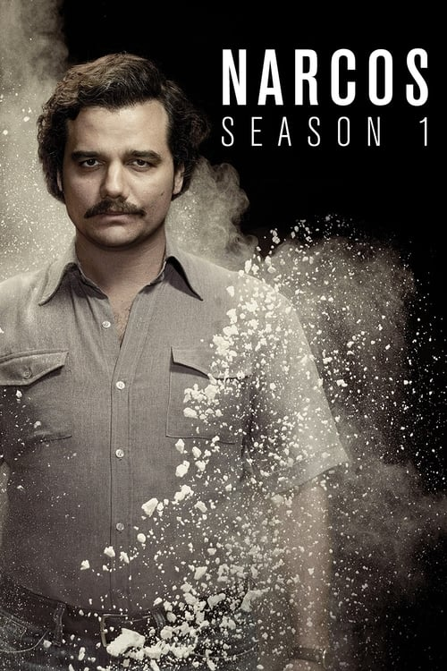 Cover of the Season 1 of Narcos