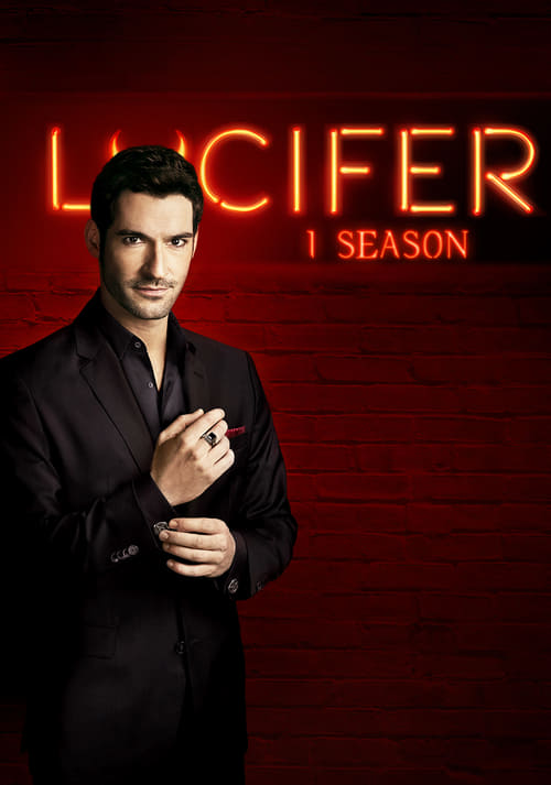 Cover of the Season 1 of Lucifer