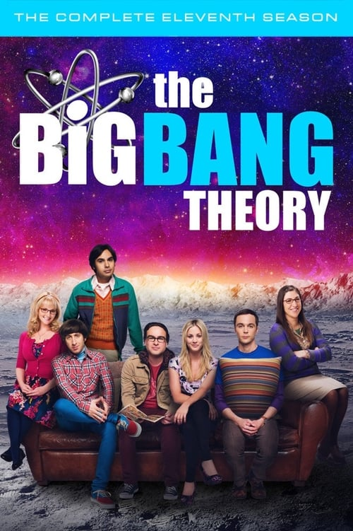 Cover of the Season 11 of The Big Bang Theory