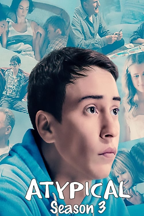 Cover of the Season 3 of Atypical