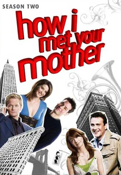 Cover of the Season 2 of How I Met Your Mother