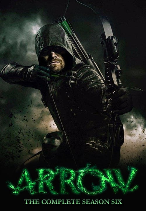 Cover of the Season 6 of Arrow