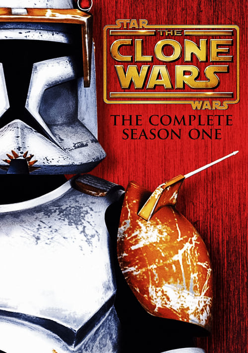 Cover of the Season 1 of Star Wars: The Clone Wars