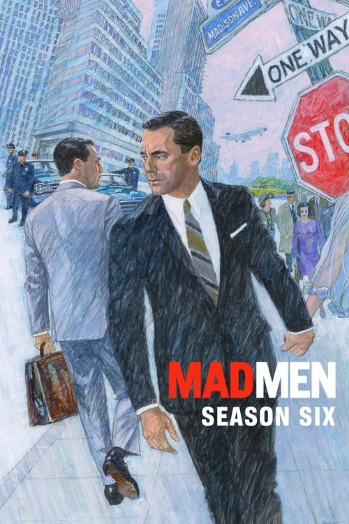 Cover of the Season 6 of Mad Men