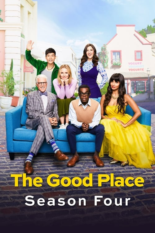 Cover of the Season 4 of The Good Place