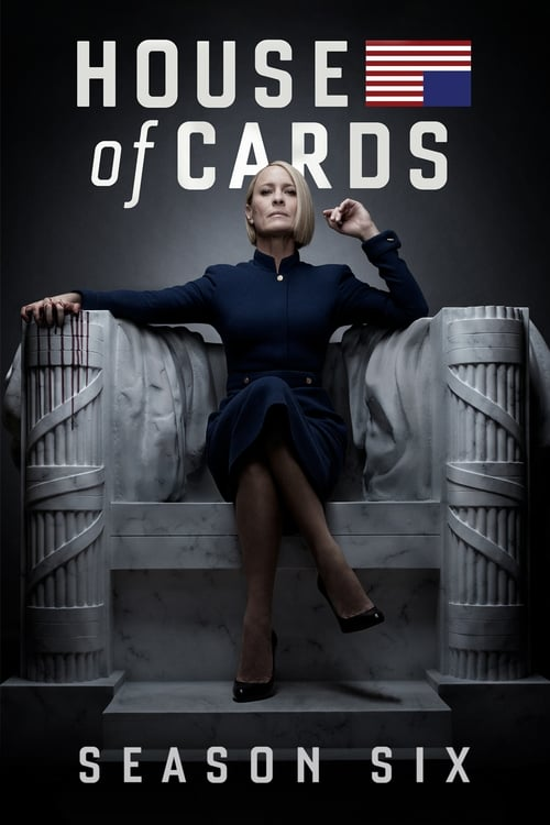 Cover of the Season 6 of House of Cards