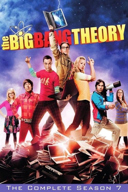 Cover of the Season 7 of The Big Bang Theory