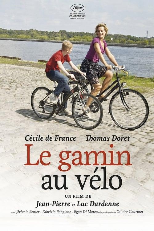 Chlapec na bicykli