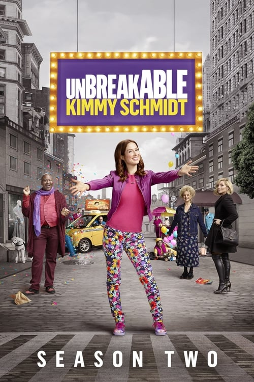Cover of the Season 2 of Unbreakable Kimmy Schmidt