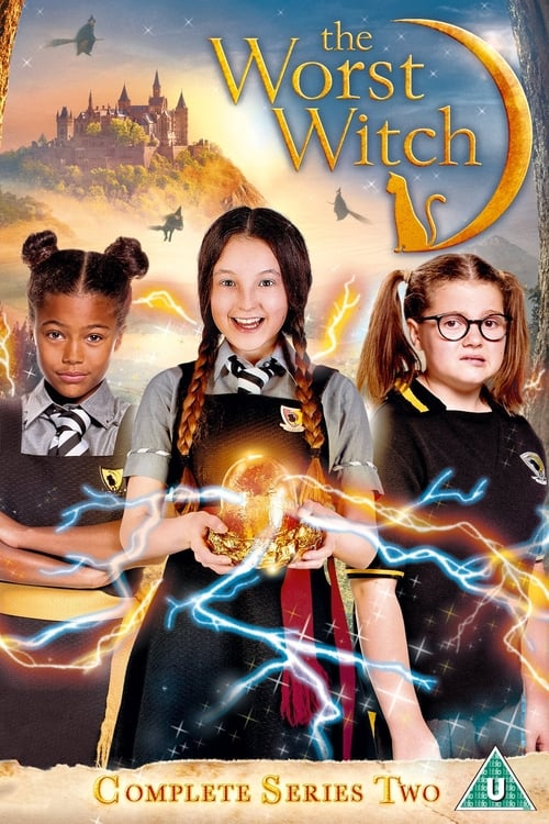 Cover of the Season 2 of The Worst Witch