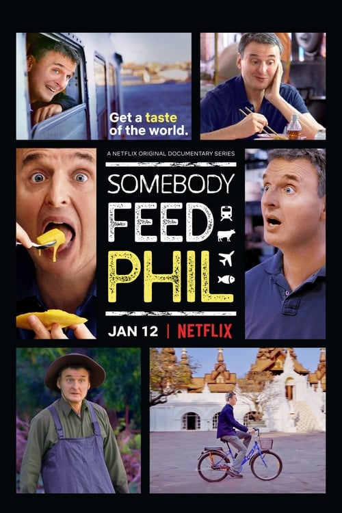 Cover of the The First Course of Somebody Feed Phil