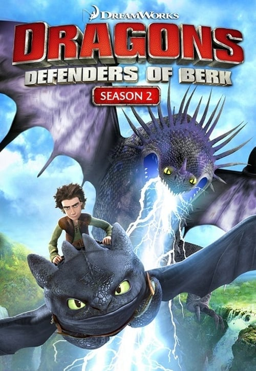 Cover of the Defenders of Berk of DreamWorks Dragons