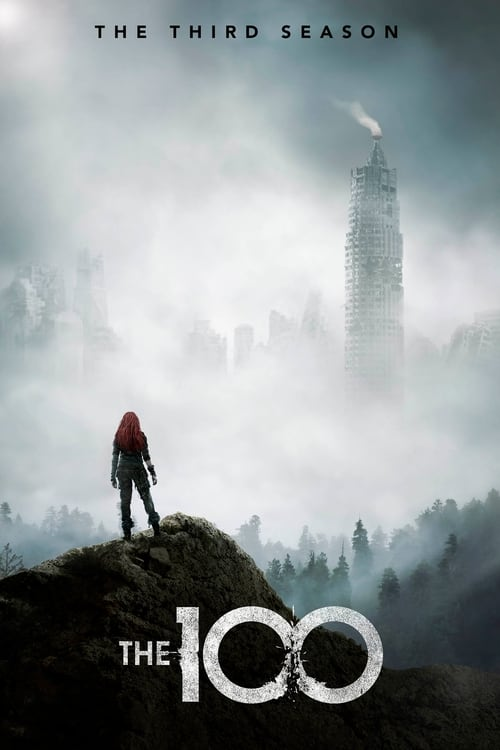Cover of the Season 3 of The 100