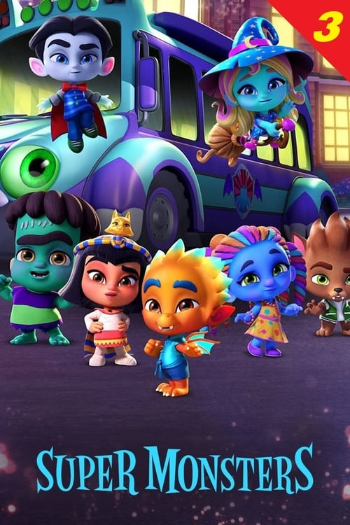 Cover of the Season 3 of Super Monsters