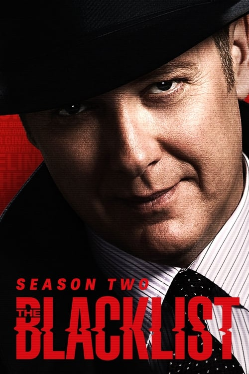 Cover of the Season 2 of The Blacklist