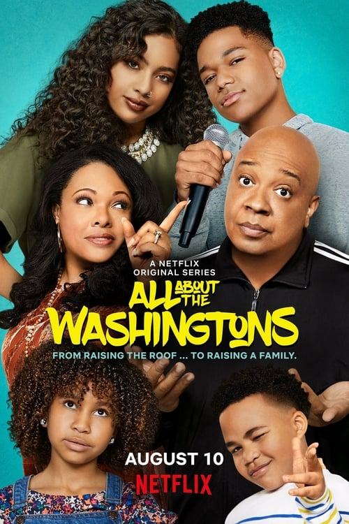 Cover of the Season 1 of All About the Washingtons