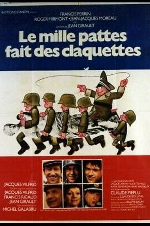 Le mille-pattes fait des claquettes 1977